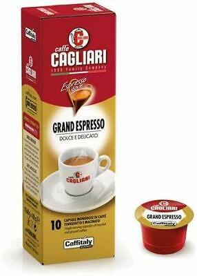 100 capsules Caffitaly System Grand Espresso Café sucré et délicat