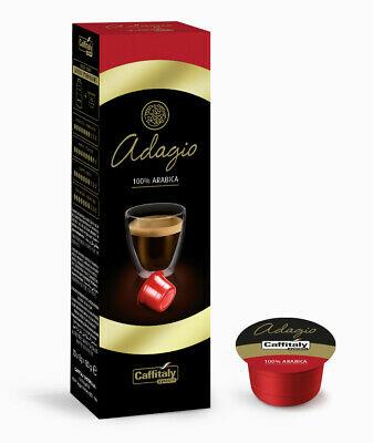 100 capsules de café Système Adagio Caffitaly Premium 100% Arabica