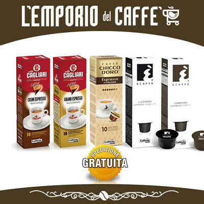 200 Capsules Espresso Caffitaly System Smart Top Selection Choice café
