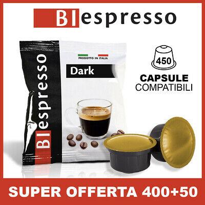450 capsules CAFFITALY compatibles, mélange foncé, café italien, Biespresso