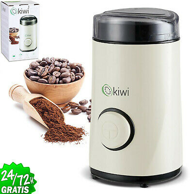 Moulin à café électrique 50gr - Broyeur en acier inoxydable 150w. Pour