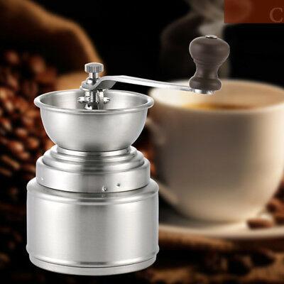 Cn _ Machine manuelle de broyeur de grains de café en céramique en acier inoxydable à la maison