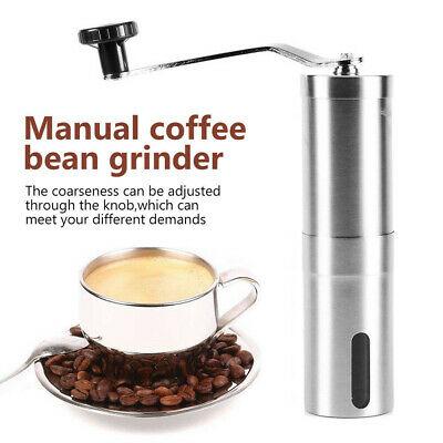 Coupeur en céramique Mini moulin à café manuel en acier inoxydable de haricot de cuisine
