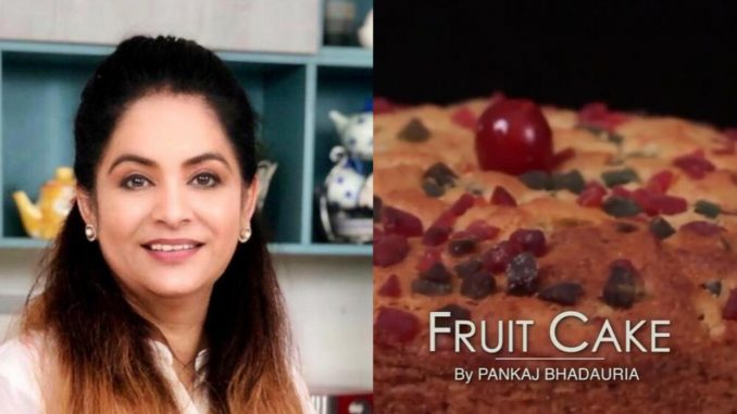 """Masterchef Pankaj Bhadouria partage une recette pour faire un gâteau aux fruits """"boulangerie jaisa"""" à la maison"""