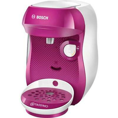 Machine à café rose Bosch Haushalt Happy Tas1001 avec capsules