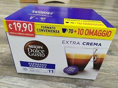 80 Pods Capsules Nescafé 'Dolce Gusto Caffe' Ristretto Ardenza Magnum Originali