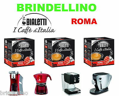 128 capsules Caffe Roma Mokespresso Bialetti Mokona Mokissima Tazzissima Diva