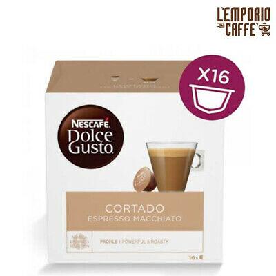 48 capsules Nescafé Dolce Gusto Cortado Espresso Macchiato 100% Original