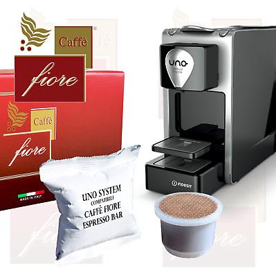 500 Pods Capsules compatibles UNO SYSTEM CAFFE FIORE Espresso BAR mélange intense
