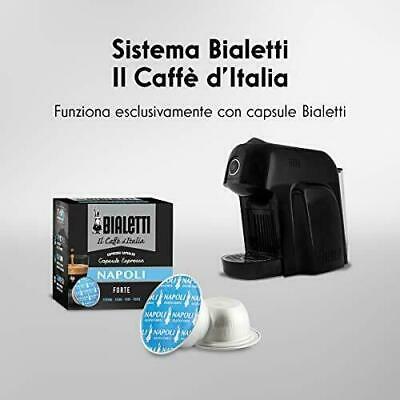 Machine à café Bialetti Smart Espresso pour capsules en aluminium, 1200 W NOIR
