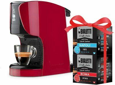 Machine à café Bialetti modèle Opera + 16 capsules de mélange Naples et Rome