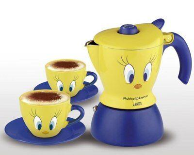 Cafetière Bialetti Mukka Titty 2 tasses avec 2 tasses Titty Exclusivité Topshop