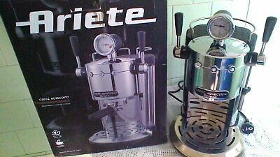 Machine à café professionnelle Ariete 1387 Novecento Espresso à réparer utilisée