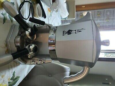 Bialetti Mokona Silver, machine à café expresso, dosettes et café moulu