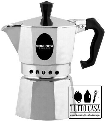 Cafetière Moka Bialetti Morenita Espresso Cafetière 1 2 3 6 9 Tasses