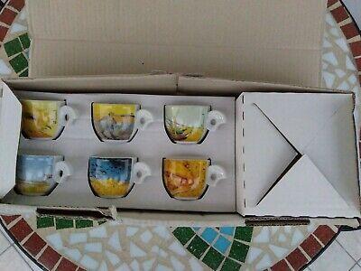 6 X Tasse à Café Avec Soucoupe Thun Collection Vincent Van Gogh