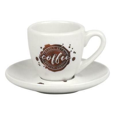 Könitz Espresso Coffee Bar, Tasse à Café avec Soucoupe, 8 Pièces, 1750011034