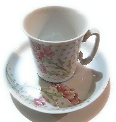Set Nr.6 tasses à café avec soucoupe