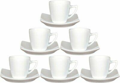 Saturnia Set Tasses à Café Tokio Line 6 Pièces Avec Soucoupe