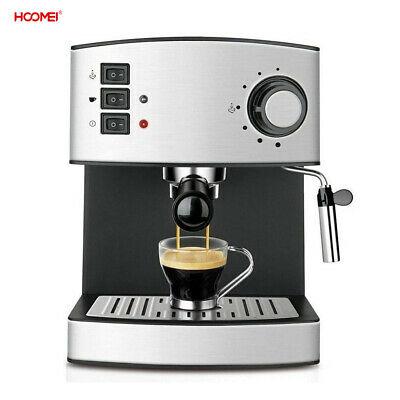 Machine à Cappuccino Espresso 15Bar Professionnel Automatique 850W Hoomei Non