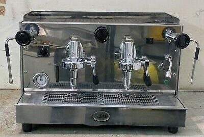SAB Professional Machine à café expresso 2 groupes levier mécanique
