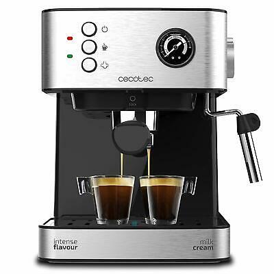 Machine à expresso professionnelle Cecotec Power pour café express et cappuccino