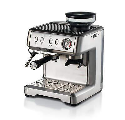 Machine à café expresso professionnelle Ariete 1313 en acier inoxydable avec moulin à café
