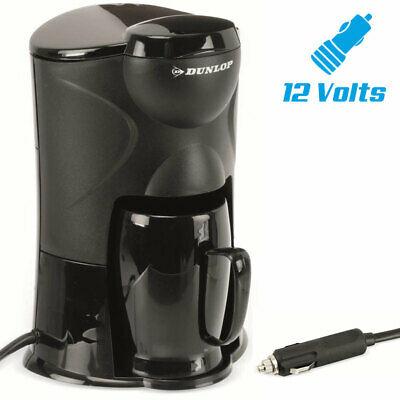 Machine à café portable 12V voiture allume-cigare camping-car 1 tasse 170W