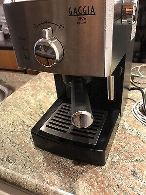 Machine à café Gaggia Viva Deluxe toujours utilisée sous garantie