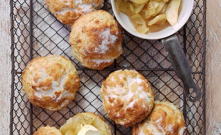 Recette des fameux scones aux pommes de Granny Smith