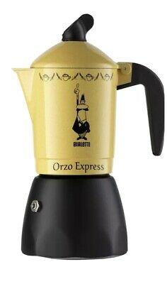 Orziera Bialetti Cafetière Orge Café Orge Express 2 tasses Nouveau 2328 Rotex