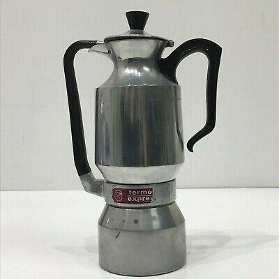 Cafetière Moka Machine à café «Thermos Express Vintage des années 1960 8/10 tasses