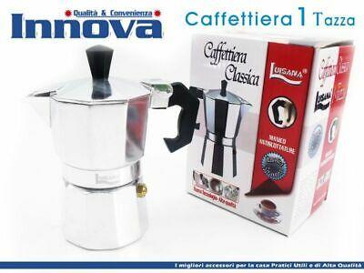 Cafetière Moka Machine à expresso napolitaine Mesure 1 tasse HMJ