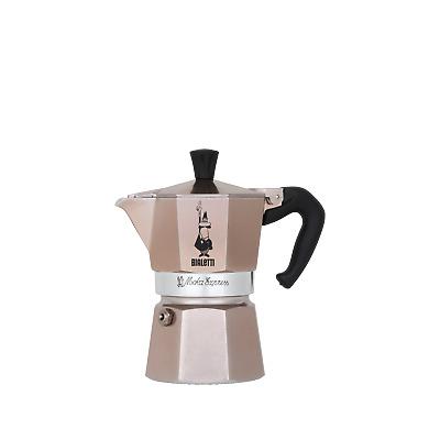 "BIALETTI Cafetière espresso ""Moka Express"" or rose, 1 tasse, édition limitée"