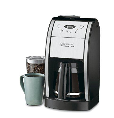 Cuisinart DGB-550BKP1 Cafetière automatique Grind & Brew, 12 tasses, noir