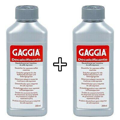 Détartrant Gaggia 250 ml pour machines à café expresso 2 packs