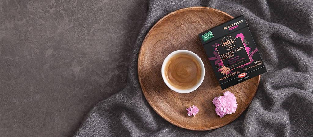 Mr & Mrs Mill - Prolongez votre expérience Verismo * avec les dosettes de café compatibles Verismo * de Mr & Mrs Mill.