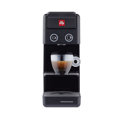Illy Cafetière Capsules Iperespresso Espresso Coffee Y3.3 Noir New Edi