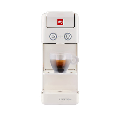 Illy Cafetière Capsule Iperespresso Espresso Coffee Y3.3 Blanc New E