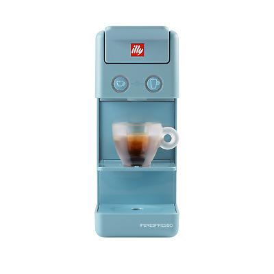 Cafetière Illy Capsules Café Espresso Iperespresso Y3.3 Azzurro Amalfi