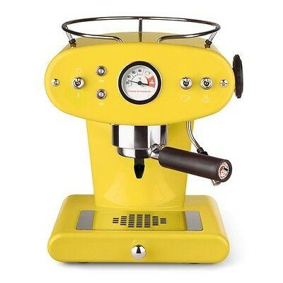 Illy - Machine à café X1 pour CAFÉ MOULU Jaune - NOUVEAU