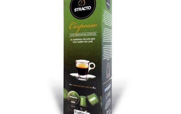 CAPSULES DE CAFÉ Stracto 80583 Corposso (80 uds) - 37,77 EUR