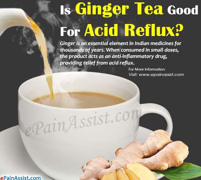 Le thé au gingembre est-il bon pour le reflux acide?