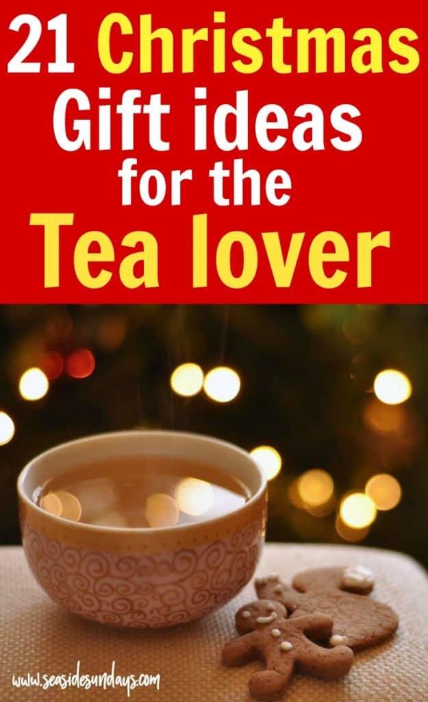 Idées cadeaux de Noël pour les amateurs de thé! Vous cherchez le cadeau de Noël parfait pour faire un panier-cadeau pour les amateurs de thé? Si vous souhaitez créer votre propre cadeau pour les amateurs de thé de bricolage, ce guide de cadeaux regorge d'idées pour les gidfts de Noël tels que des bouilloires, des ensembles d'échantillonneurs de thé, des passoires à thé et plus encore - tous disponibles sur Amazon!