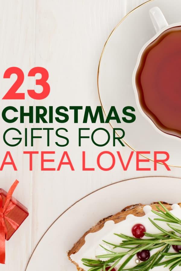 guide des amateurs de thé pour Noël