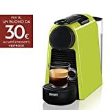 Machines à café Nespresso Essenza Mini De'Longhi EN85.L, 1370 watts, citron vert