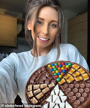 Mme Head, 26 ans, a construit un Instagram gigantesque pendant le verrouillage en partageant ses astuces simples pour préparer des desserts décadents