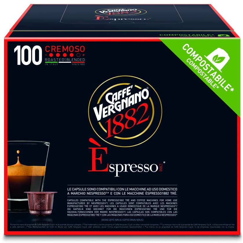 Capsules de café - Caffè Vergnano