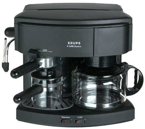 Krups 985-42 Il Caffe Duomo Machine à café et expresso, noir
