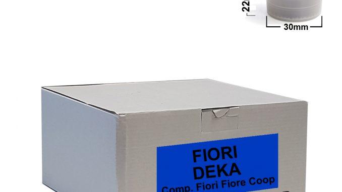 Capsules de café FIORI décaféiné 50pcs - Comp.Fior Fiore Coop, Martello, CIT-ETC-DEK-0050 Café CialdeItalia